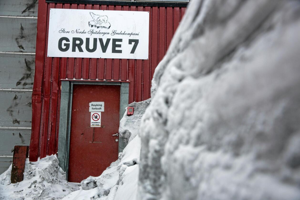 Store Norske gruveselskap driver flere gruver på Svalbard. Selskapet bukker under om ikke staten spytter inn hundrevis av millioner. Foto: Tore Meek / NTB scanpix