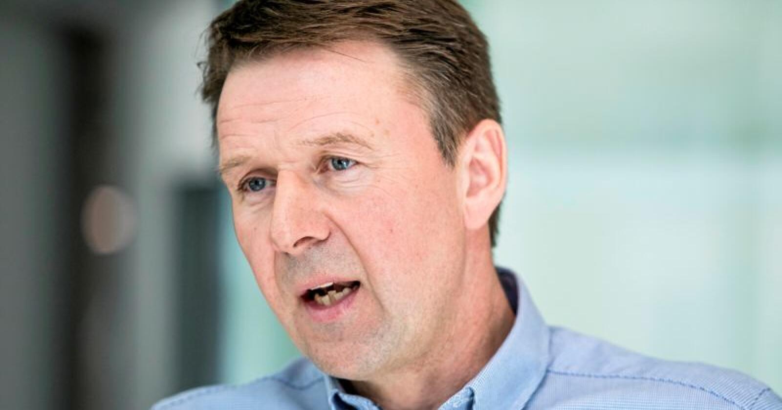 – Veldig uheldig, sier bondelagsleder Lars Petter Bartnes om Mattilsyn-skandalen. Foto: Audun Braastad / NTB scanpix