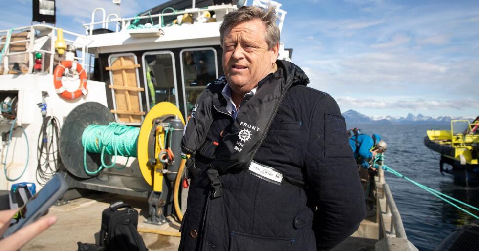 – Norsk kvalfangst handlar om retten til å utnytte naturressursane våre, seier fiskeri- og sjømatminister Harald T. Nesvik. Foto: Berit Roald / NTB scanpix