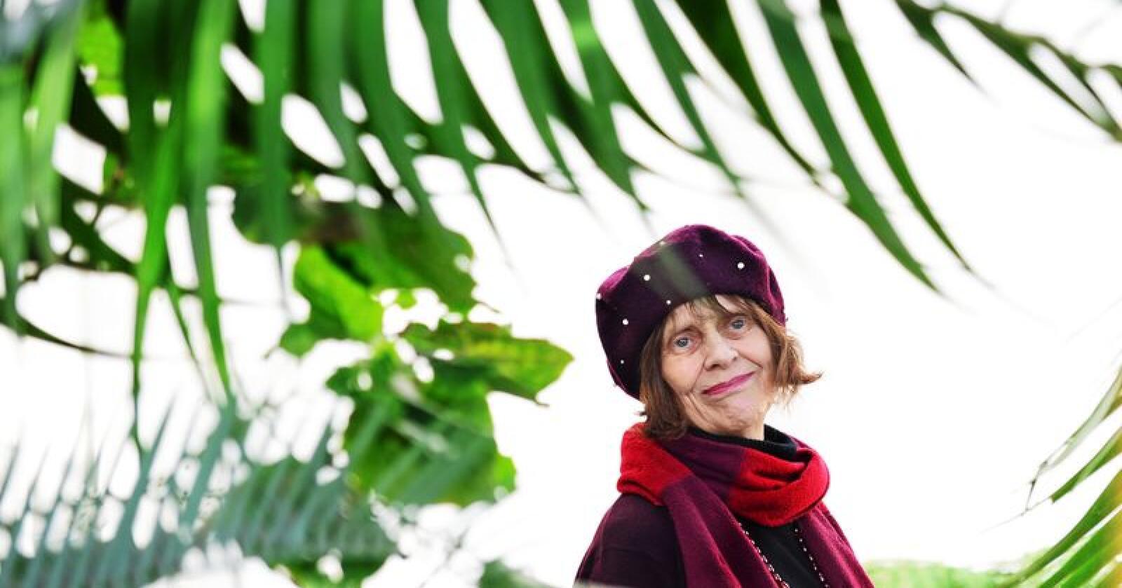 """Kari Gåsvatn. Forfatter av boken """" Geriljahagen"""" og journalist i Nationen. Foto: Siri Juell Rasmussen"""