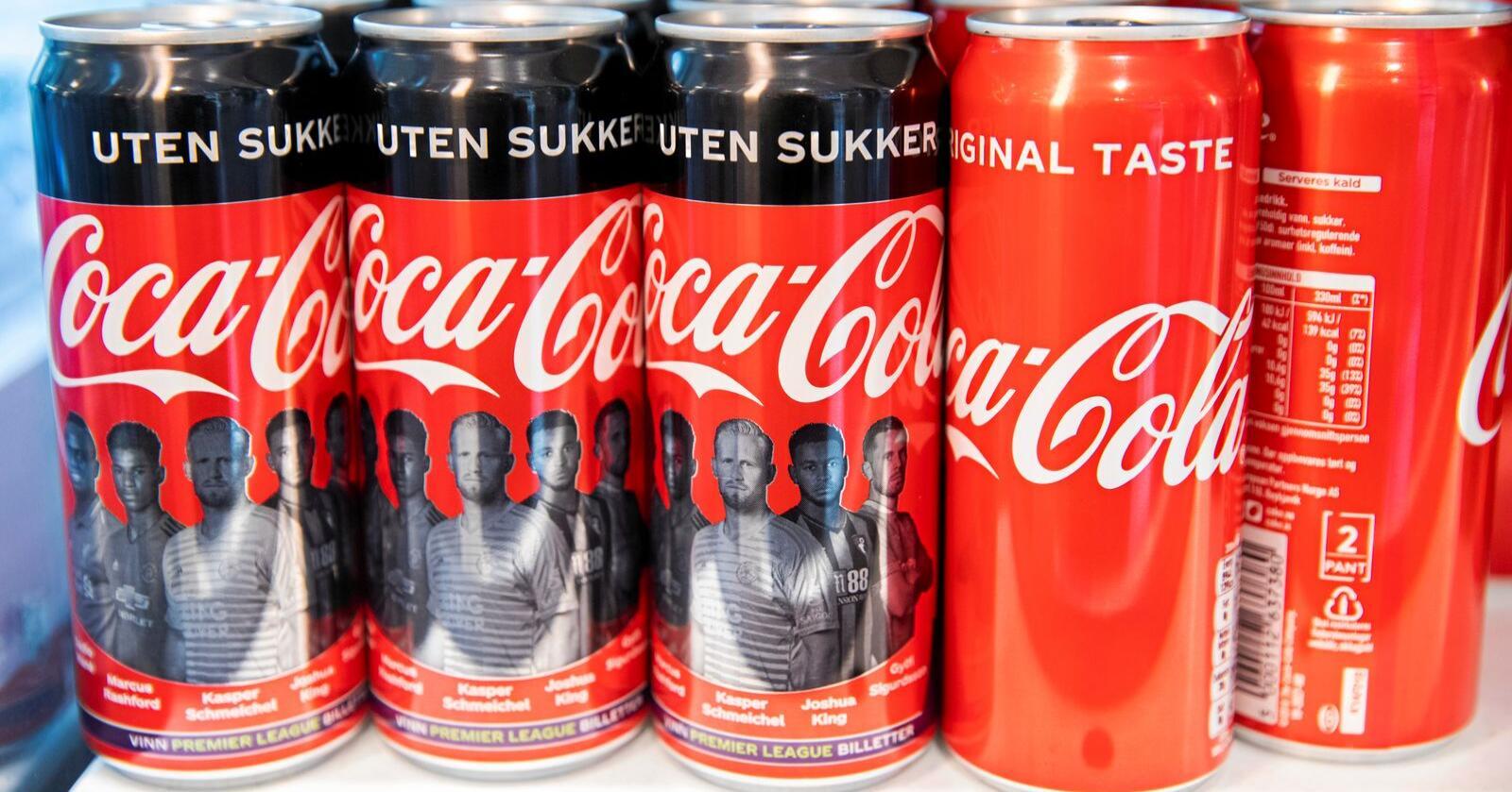 Norge er det landet i Europa hvor flest velger sukkerfri brus. Foto: Berit Roald / NTB scanpix