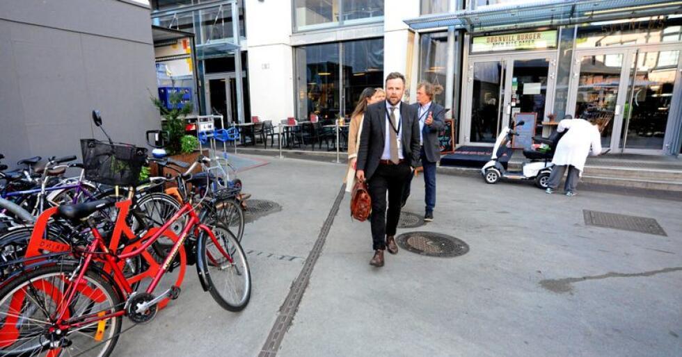 Næringsminister Torbjørn Røe Isaksen talte til NHO Mat og Drikkes årskonferanse onsdag. Foto: Siri Juell Rasmussen