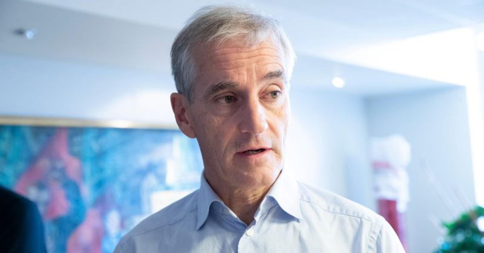 Ap-leder Jonas Gahr Støre sier det vil være «et kjennetegn ved norsk politikk framover at vi må finne sammen med andre partier, og finne gode løsninger». Foto: Terje Bendiksby / NTB scanpix