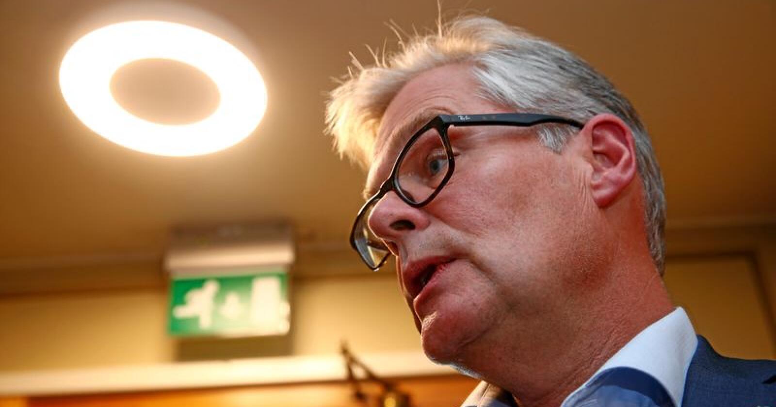 Tar feil: Hans Andreas Limi atr feil når han fremstiller det som om EU og Schengen er de eneste måtene internasjonalt samarbeid kan foregå på, skriver innsenderen. Foto: Terje Pedersen/NTB scanpix