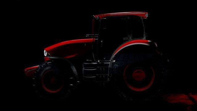 På Agritechnica får du for første gang se Zetors nye design i litt sterkere lys.