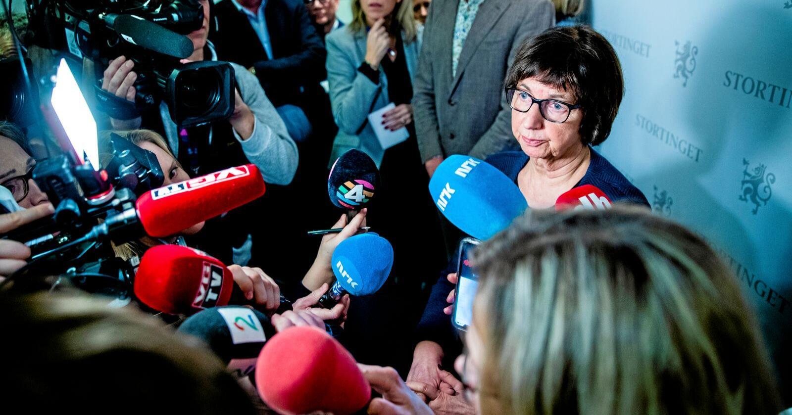 Nav-skandalen: Den ene etter den andre har beklaget uretten, skriver innsenderen. Foto: Stian Lysberg Solum / NTB scanpix