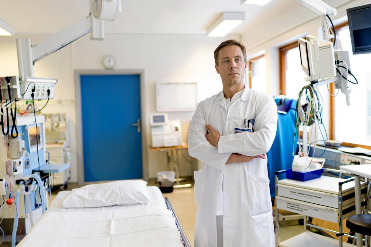 Bekymret kirurg: John Christian Glent, leder i Forening for unge kirurger. Foto: Ketil Blom Haugstulen