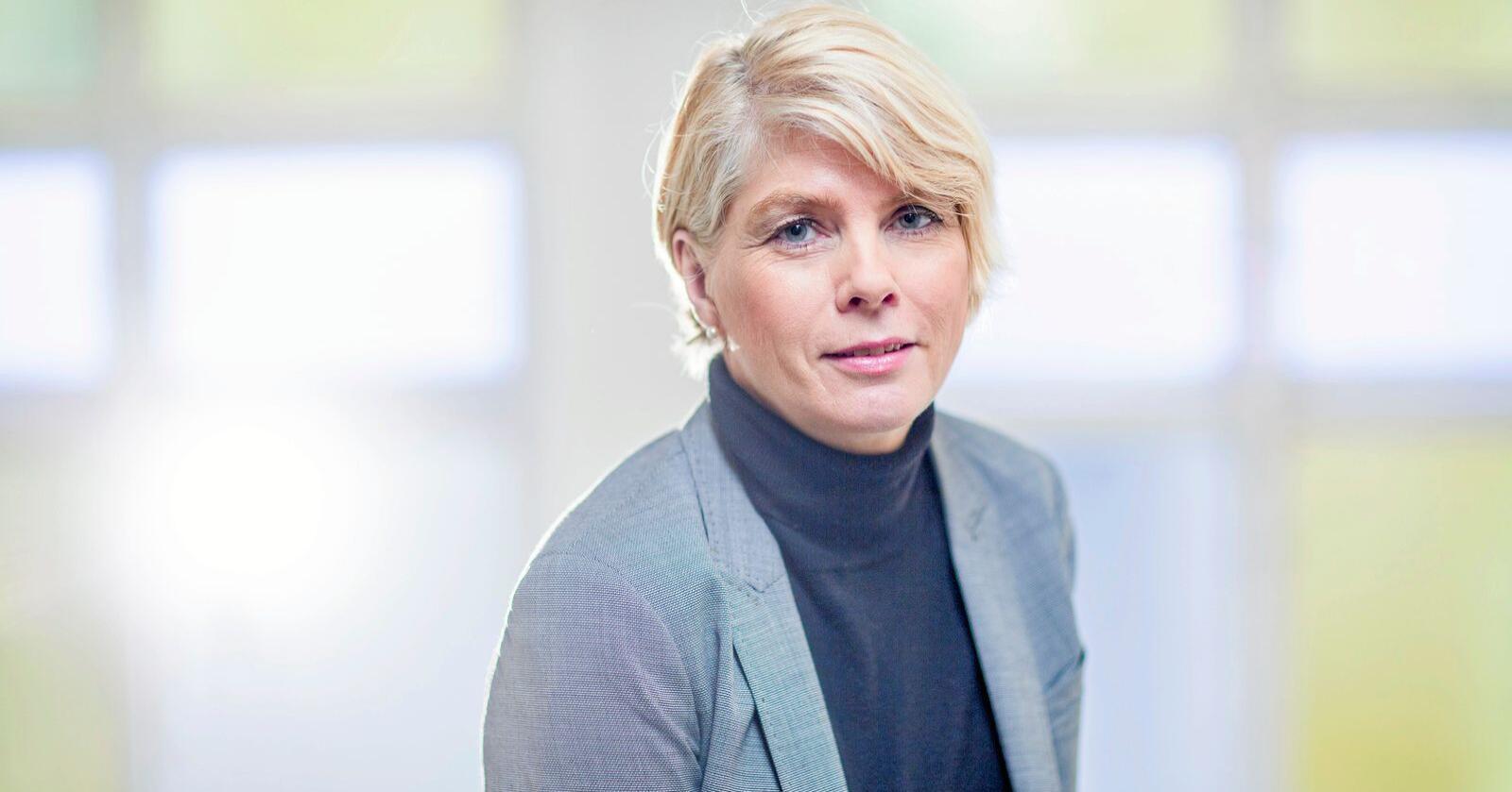 Leder for Kirkerådet, Kristin Gunleiksrud Raaum. Foto: Den norske kirke / Bo Mathisen