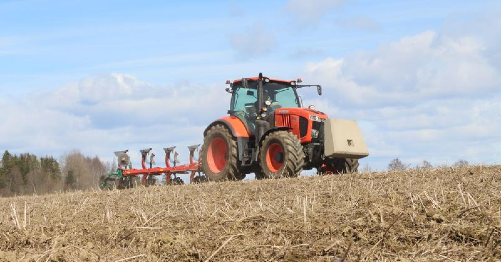 Storebror: Det har ikke lyktes Traktor å få tak i et bilde av den nye MGX-IV. Her sees en M7171, en modell i M7-serien, som MGX nå skal ligne mer på. Arkivfoto: Traktor