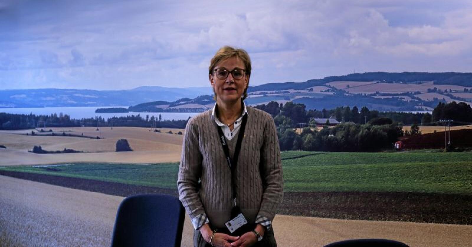 Sigrid Hjørnegård, generalsekretær i Bondelaget. Foto: Michael Brøndbo