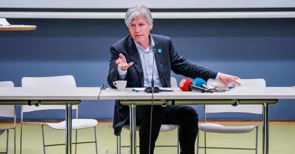 Klima- og miljøminister Ola Elvestuen (V) gir Miljødirektoratet ekstra tid til å bli ferdig med den store utredningen «Klimakur 2030». Foto: Stian Lysberg Solum / NTB scanpix