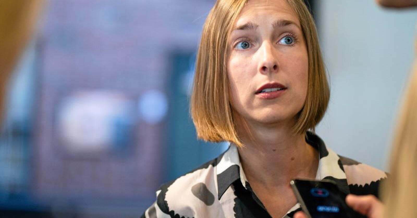 Forsknings- og høyere utdanningsminister Iselin Nybø (V). Foto: Audun Braastad/NTB scanpix