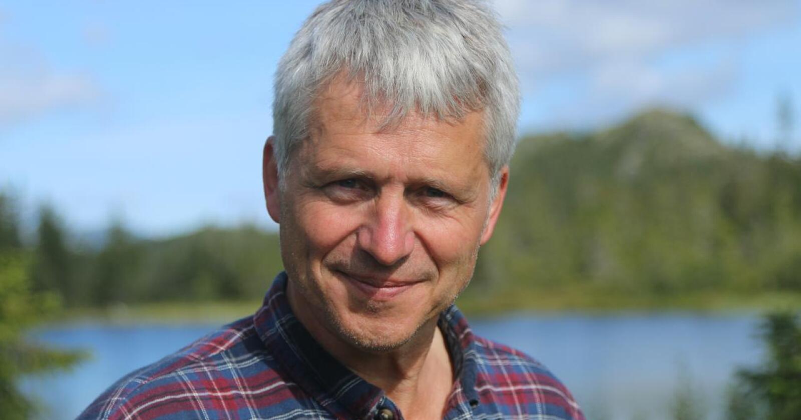 Skeptisk: Børre Solberg og Økologisk Norge vil ha statlig innkjøpsordning. Foto: Dorthe Bechmann