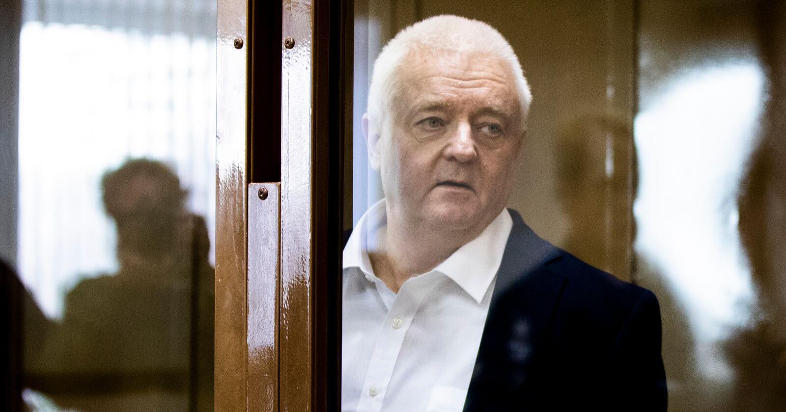 Frode Berg ble dømt til 14 års fengsel i Russland for spionasje. Foto: Berit Roald / NTB