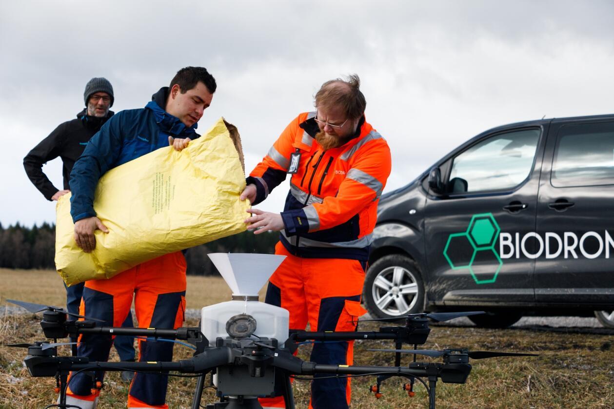 BiodroneAtilla HaugenSå med drone