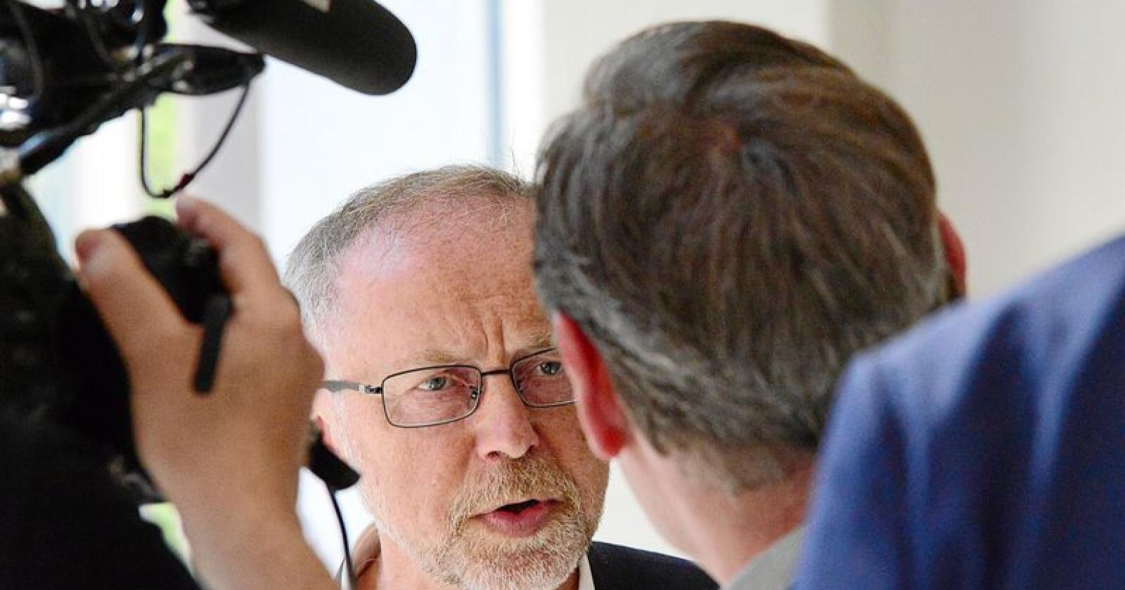 Departementsråd: Leif Forsell, forhandlingsleder for staten i jordbruksoppgjøret. Foto: Siri Juell Rasmussen