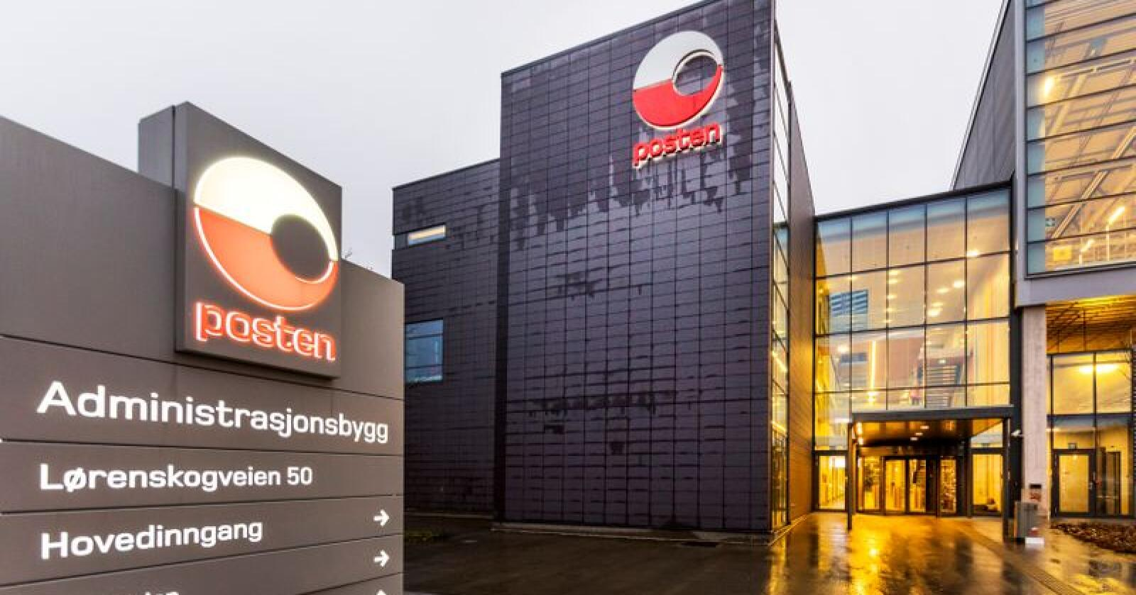 Posten Norge øker omsetningen i tredje kvartal. Foto: Gorm Kallestad / NTB scanpix