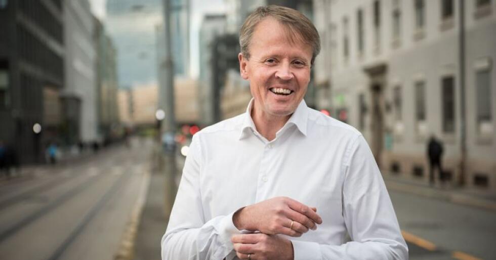 – Vi trenger en plan for klimatilpasning vel så mye som en plan for klimakutt, sier administrerende direktør Ola Hedstein i Norsk Landbrukssamvirke. Foto: John Trygve Tollefsen