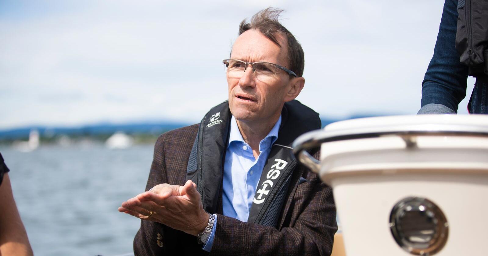 Espen Barth Eide (Ap) er Aps energi- og miljøpolitiske talsperson. Foto: Trond Reidar Teigen / NTB scanpix
