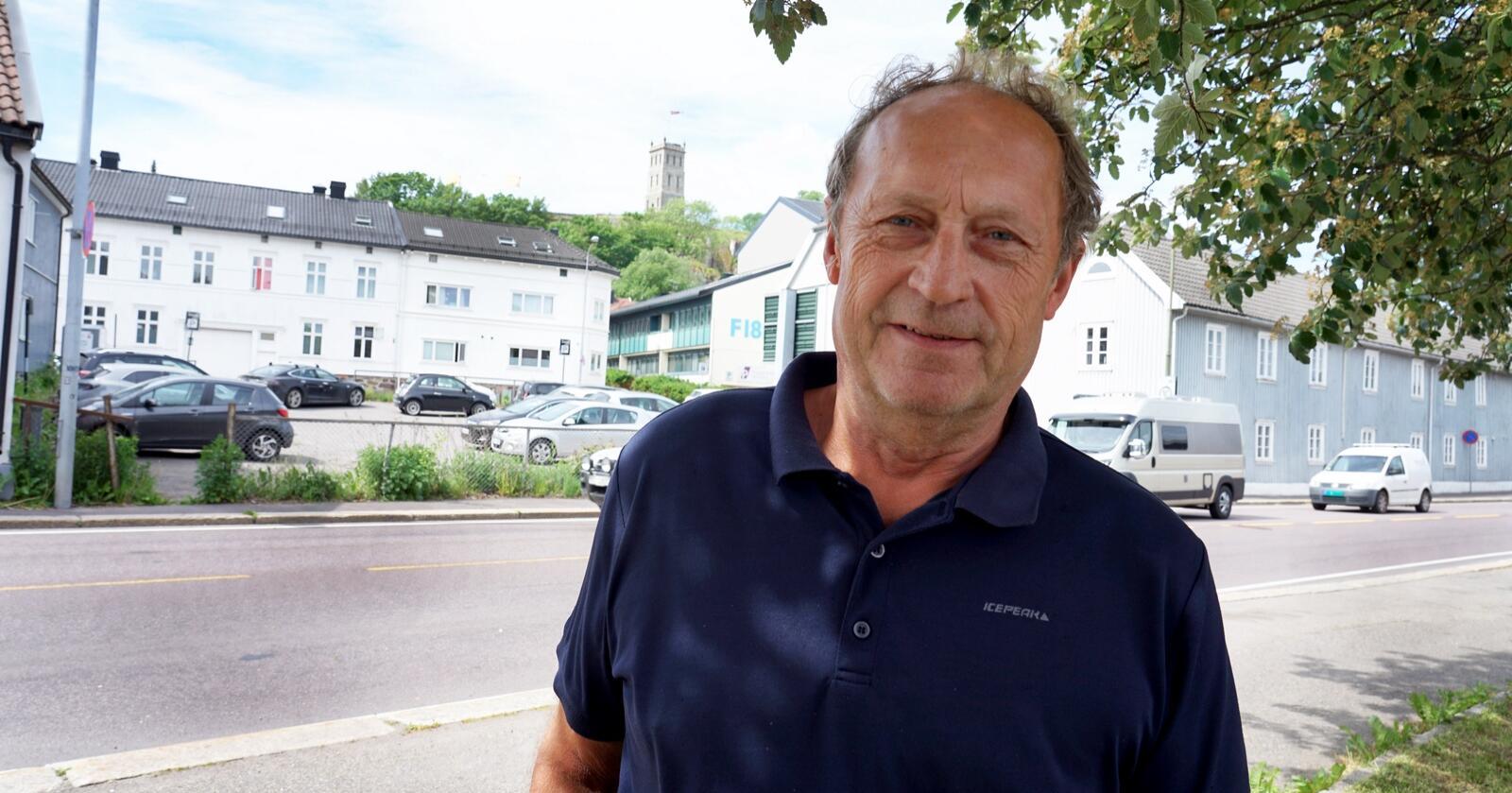 Varaordfører i Tønsberg, Steinar Solum (Sp). Foto: Lars Bilit Hagen