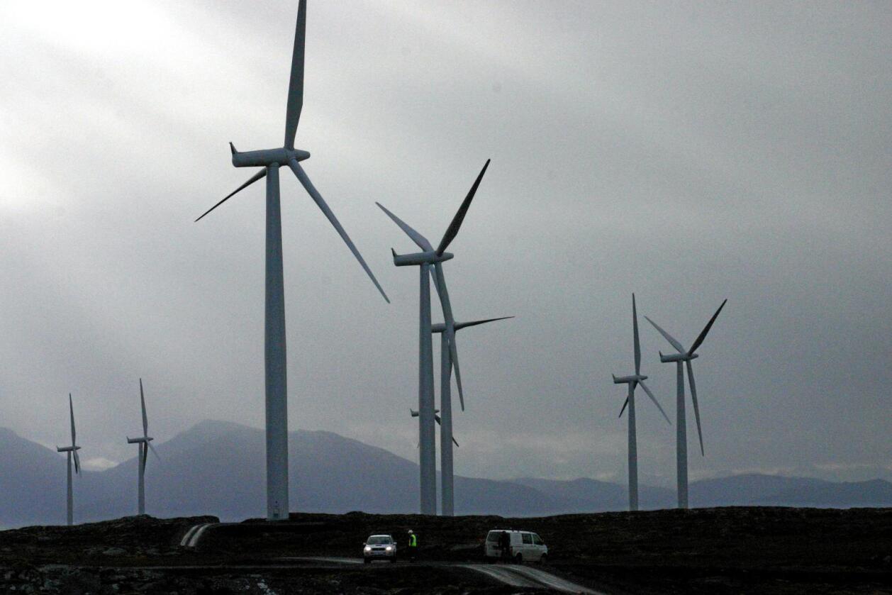 Omstridt: Vil vindkraft tape mot vannkraft, spør leserbrevskribenten. Foto:Kjell Herskedal / NTB Scanpix