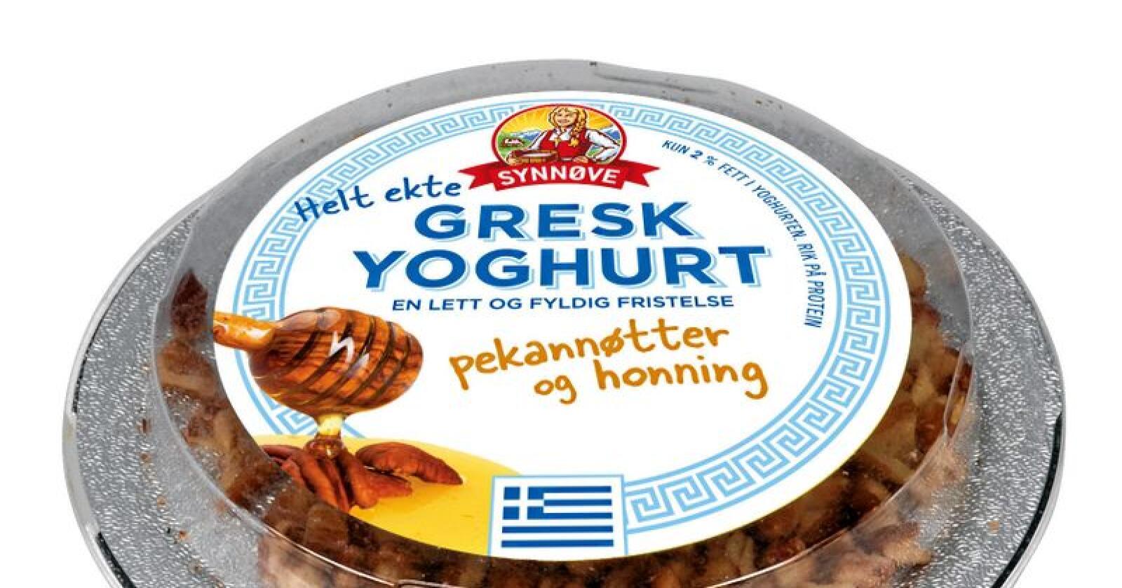 – Vi ønsker å ta hjem produksjonen av Gresk Yoghurt fordi vi er et norsk meieri, som aller helst ønsker å produsere på norsk kvalitetsmelk. Men så langt har vi ikke hatt de riktige rammevilkårene, sier administrerende direktør Trond Haug i Synnøve Finden til Nationen. Foto: Synnøve Finden.