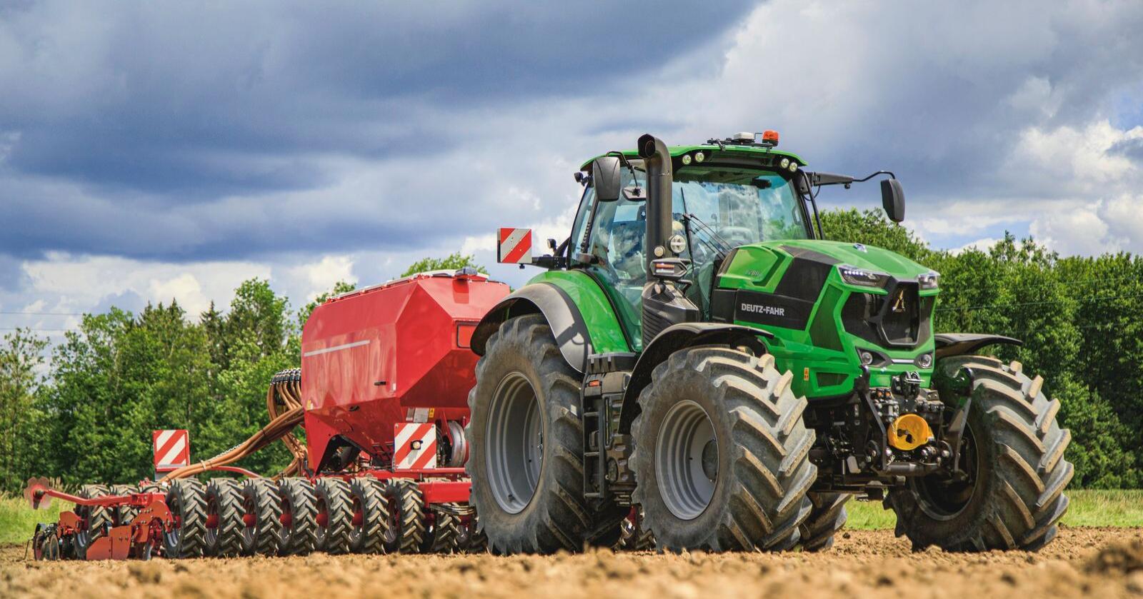 Messeløs: Den nye Deutz 8280TTV blir ikke å kunne studere på noen av de store, internasjonale landbruksmessene i 2021