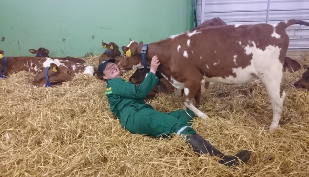 Marita Ruohoranta, jordmor og sykepleier, mener det finnes for lite informasjon om helsefarene ved å gå gravid som bonde. Foto: Privat