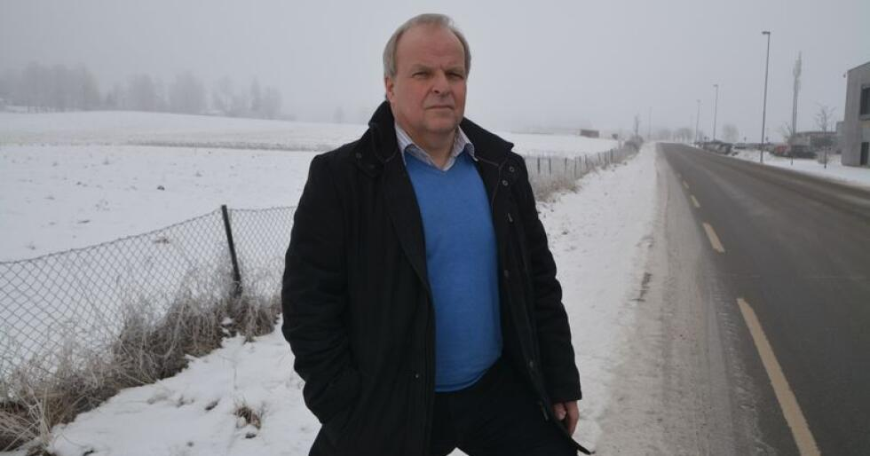 Jordvern-sjef: Øyvind Kjølberg i foreningen Jordvern Oslo og Akershus er sterkt kritisk til det som ligger innbakt av matjord-nedbygging i foreslått kommuneplan for Vestby 2019–2030. Kjølberg håper imidlertid at kommunen vil snu, etter den siste tidens kritikk mot planene. Foto: Anders Sandbu