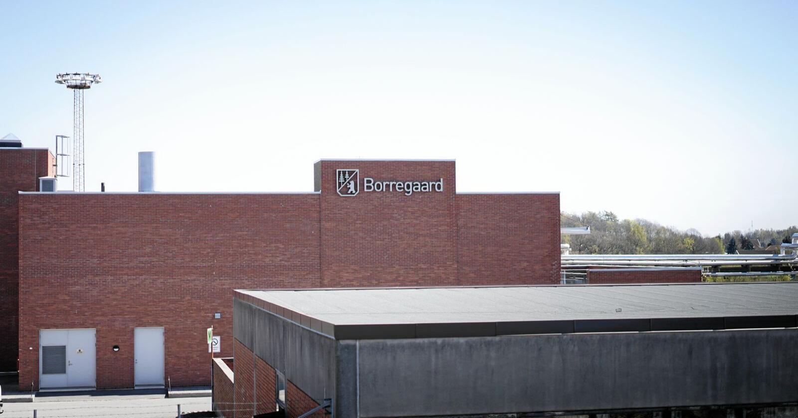 Borregaard har forplikta seg til store klimakutt. Foto: Benjamin Hernes Vogl