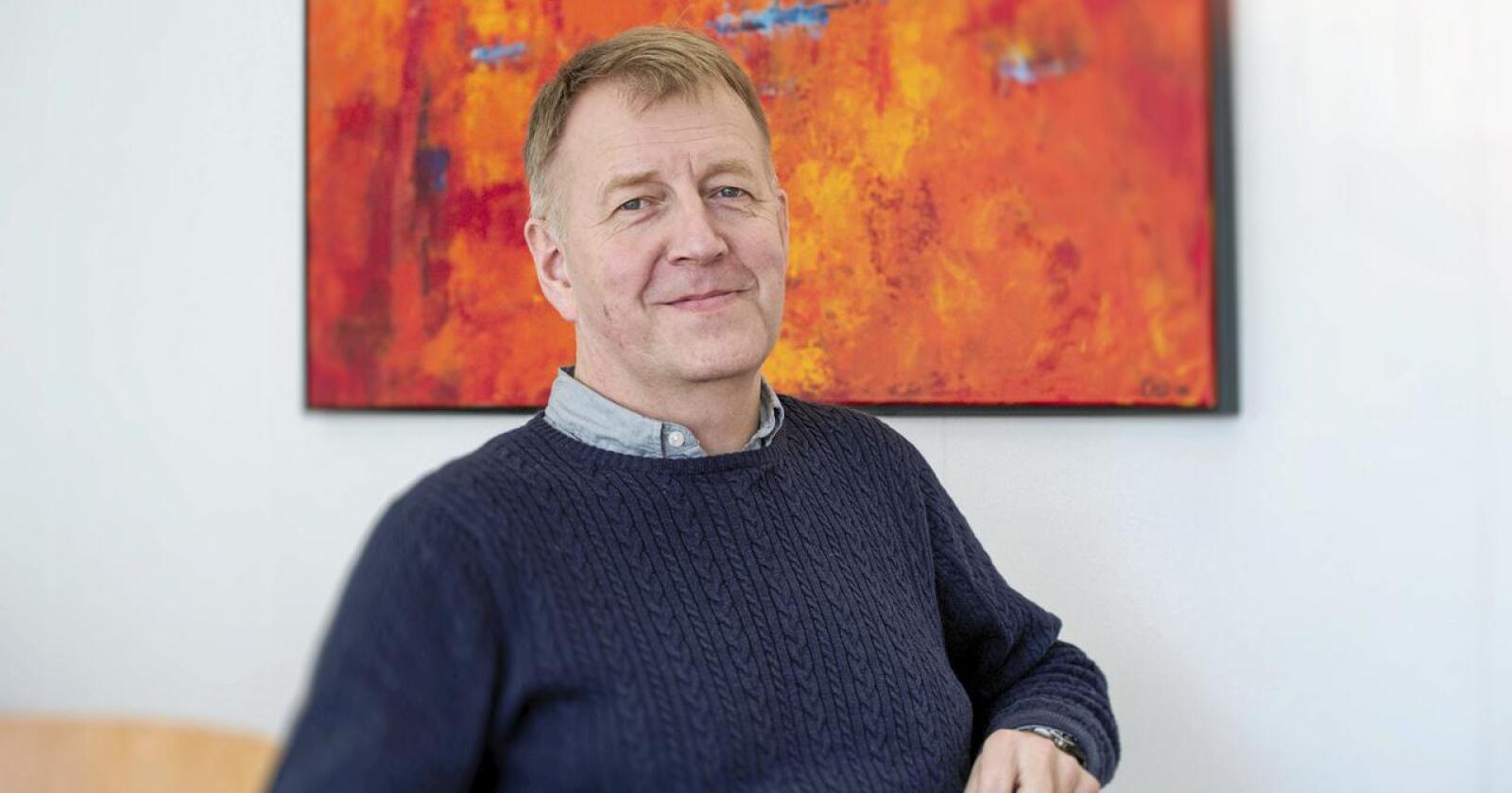 Sluttar: Terje Wester har sagt opp etter nær 35 år i Fatland. Han har vore konsernsjef frå 2008 og fram til juni i år og han er dagleg leiar i Fatland Jæren. Foto: Fatland