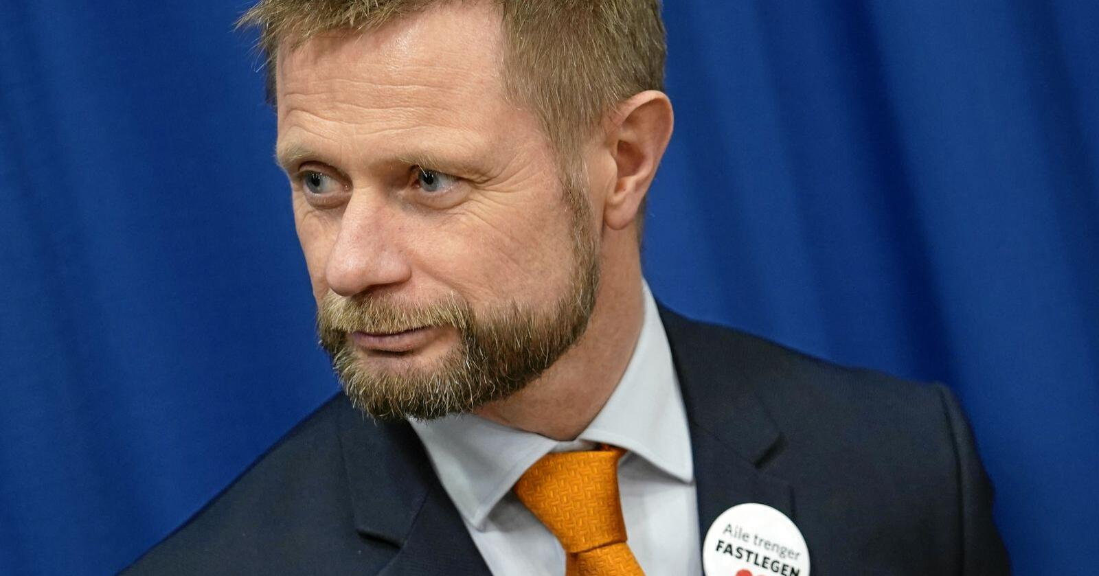 Avviser: Norsk Industris SMS-er dikterte ikke regjeringen, ifølge Bent Høie. Foto: Heiko Junge / NTB scanpix