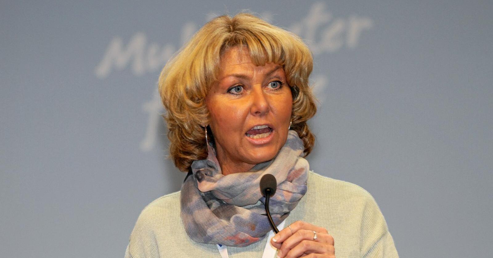 Hanne Alstrup Velure er nestleder i Utmarkskommunenes sammenslutning. Foto: Kjetil Ree (CC BY-SA 3.0)